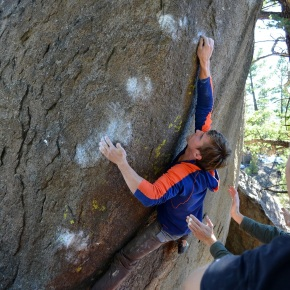 Pipestone Pass Bouldering: Take One